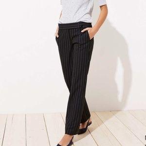 LOFT pinstripe black trousers in Marisa fit
